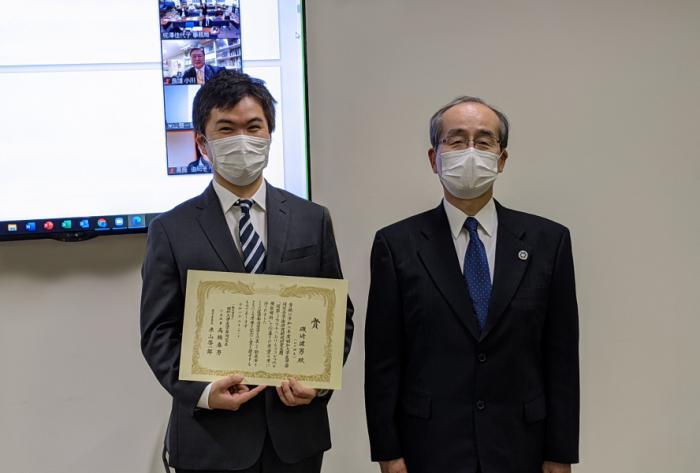 磯﨑健男先生、高橋会長(2)